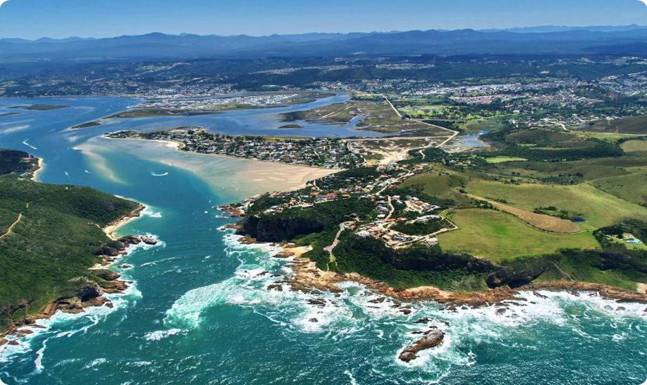 knysna lagoon and heads