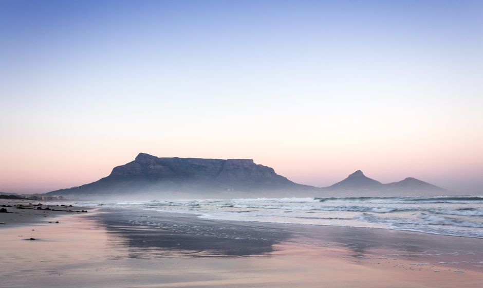 View Of Table Mountain, South Africa
