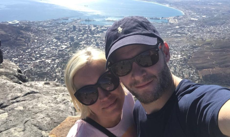Denise van Outen in Cape Town
